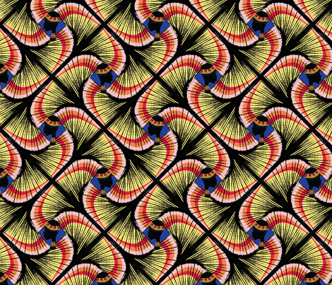 African Queen fabric by majella_leblanc on Spoonflower - custom fabric