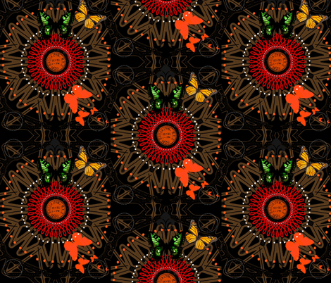 Friends at Sunset fabric by inniv8z_oz on Spoonflower - custom fabric