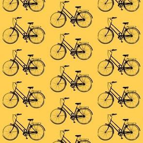 Retro Bicycles // Orange