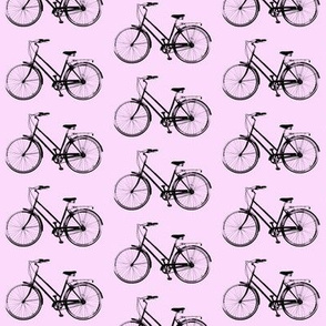 Retro Bicycles // Pink