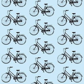 Retro Bicycles // Light Blue