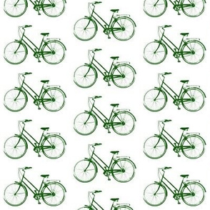 Retro Bicycles // Green