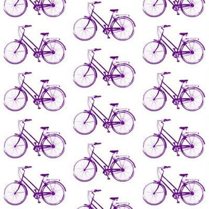 Retro Bicycles // Purple