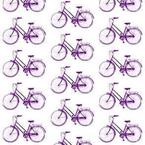 Retro Bicycles // Purple