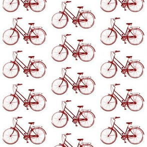 Retro Bicycles // Red