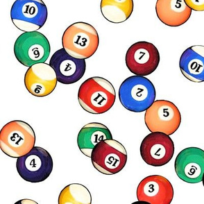 Billiard Balls // Large