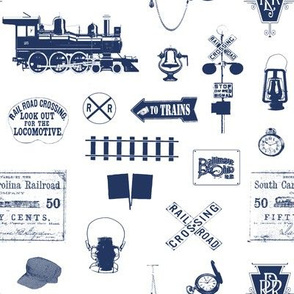 Navy Railroad Symbols // Small