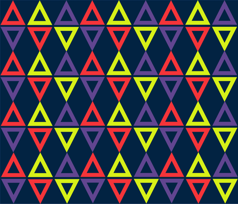 Triangle Pop fabric by mrsseay on Spoonflower - custom fabric