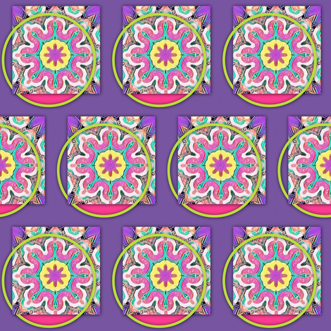 Artist's Palette fabric by ginascustomcreations on Spoonflower - custom fabric
