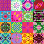 Bohemian Jungle Quilt Tiles
