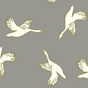 in flight_gray