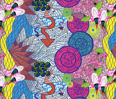 Wax On Wax Off fabric by abbyhersey on Spoonflower - custom fabric