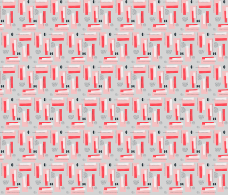 Nordisk - 01 small fabric by youdesignme on Spoonflower - custom fabric