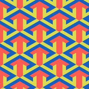 Arrow weave