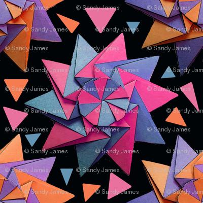star origami black 10x10