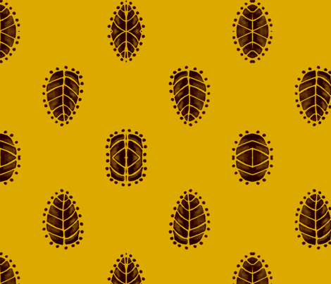 African Motifs fabric by wrensroost on Spoonflower - custom fabric