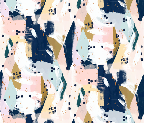 Abstract-Beneath-the-Surface fabric by crystal_walen on Spoonflower - custom fabric
