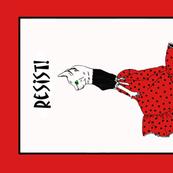 flamenco cat poster design