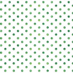green polkas - St Patricks day coordinate