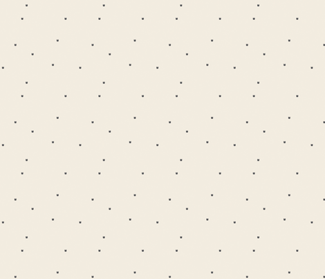 Ellie's Friends_Kitty Pattern Filled_Ivory x Gray fabric by greycamellia on Spoonflower - custom fabric