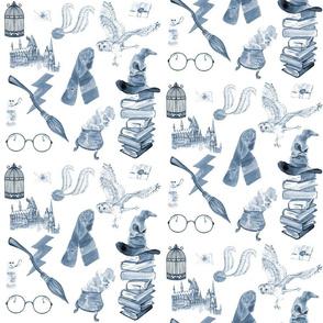Wizard Symbols // Blue // Medium Scale