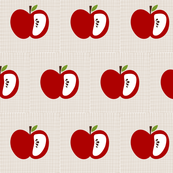 linen apple