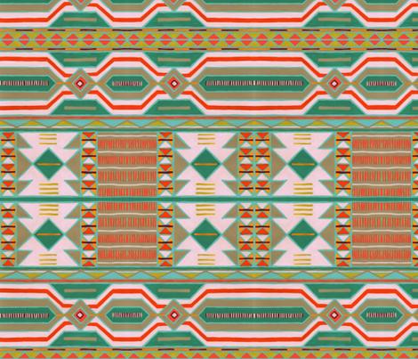 kilim vibe fabric by farreystudio on Spoonflower - custom fabric