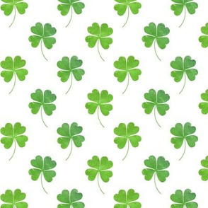 Green Clovers - Lucky Shamrocks St Patricks Day