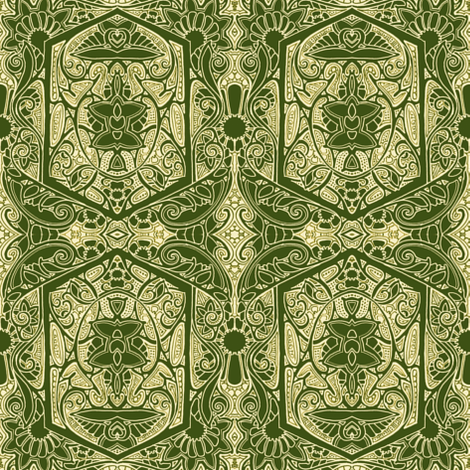 When Khaki is Not Tacky fabric by edsel2084 on Spoonflower - custom fabric