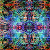 Marbled kaleidoscope