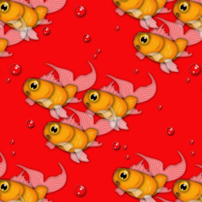 goldfish red