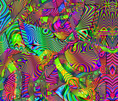 Trippydelic fabric by kevin_psychedelik on Spoonflower - custom fabric