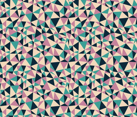 Triangle Shards Fabric By Audreymann On Spoonflower