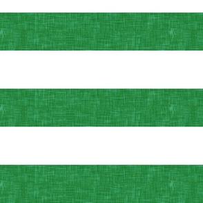 """1.5"""" green linen stripes"""