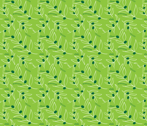 Olives, Olives, Olives fabric by whyitsme_design on Spoonflower - custom fabric