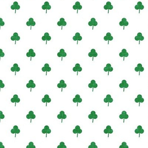 (small scale) simple shamrock