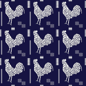 Blue Rooster Tile