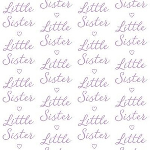 lavender little-sister-with-heart