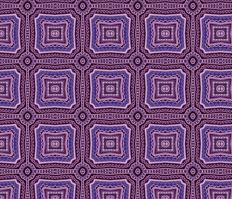 Violet mosaic fabric by dariara on Spoonflower - custom fabric