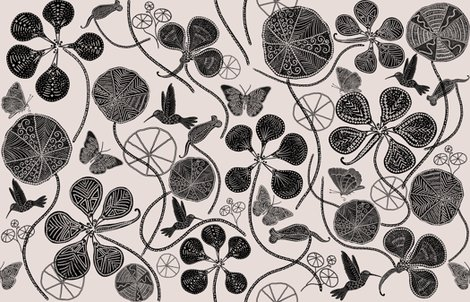 R1-african-nasturtium-garden-1-pantone-white-almost-mauve-black_shop_preview