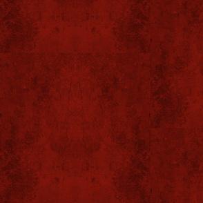 Red Mottled Suede