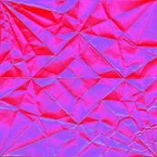 red violet origami dragon