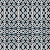 Elegant Diamond Pattern Gray and Teal