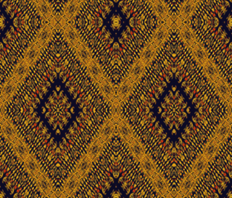 Kilim by kedoki in Hawaiian colors fabric by kedoki on Spoonflower - custom fabric