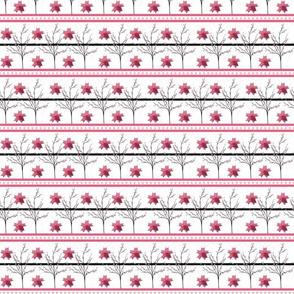 Cherry Blossom Stripe - origami