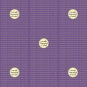 DOT-LG-SAPH Sage Green / Purple Heart