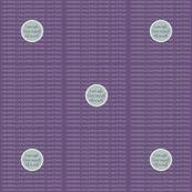 DOT-LG-SIPP Silt Green / Patrician Purple