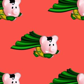 hero piggy peach
