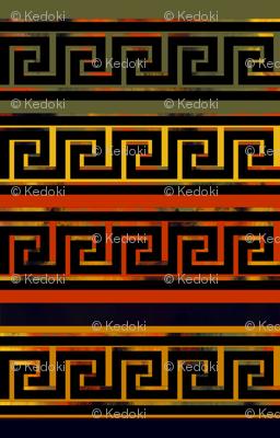 Greek Design by kedoki in Hawaiian Colors