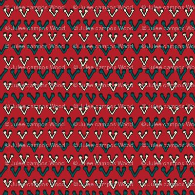 Jool's Wax Print Inspired - coordinate 4